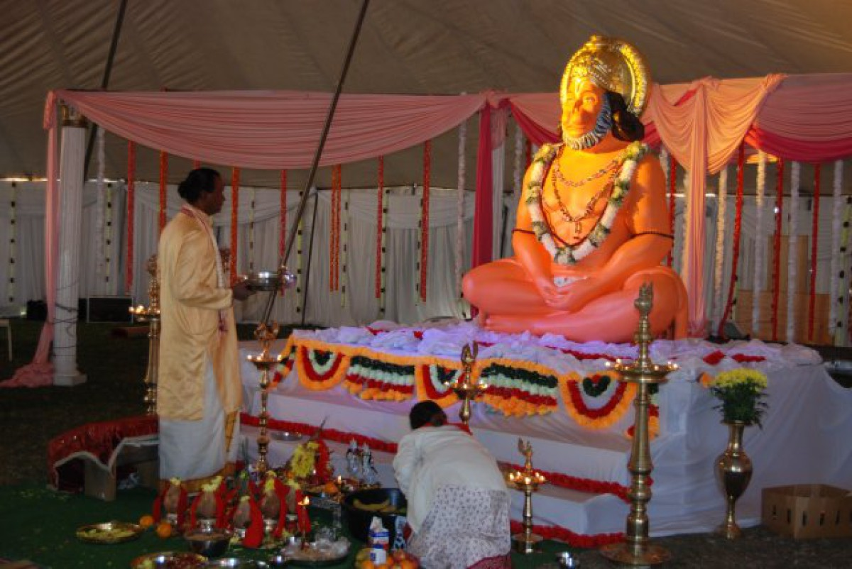 1st Cosmic Hanuman Havan (July 2012)