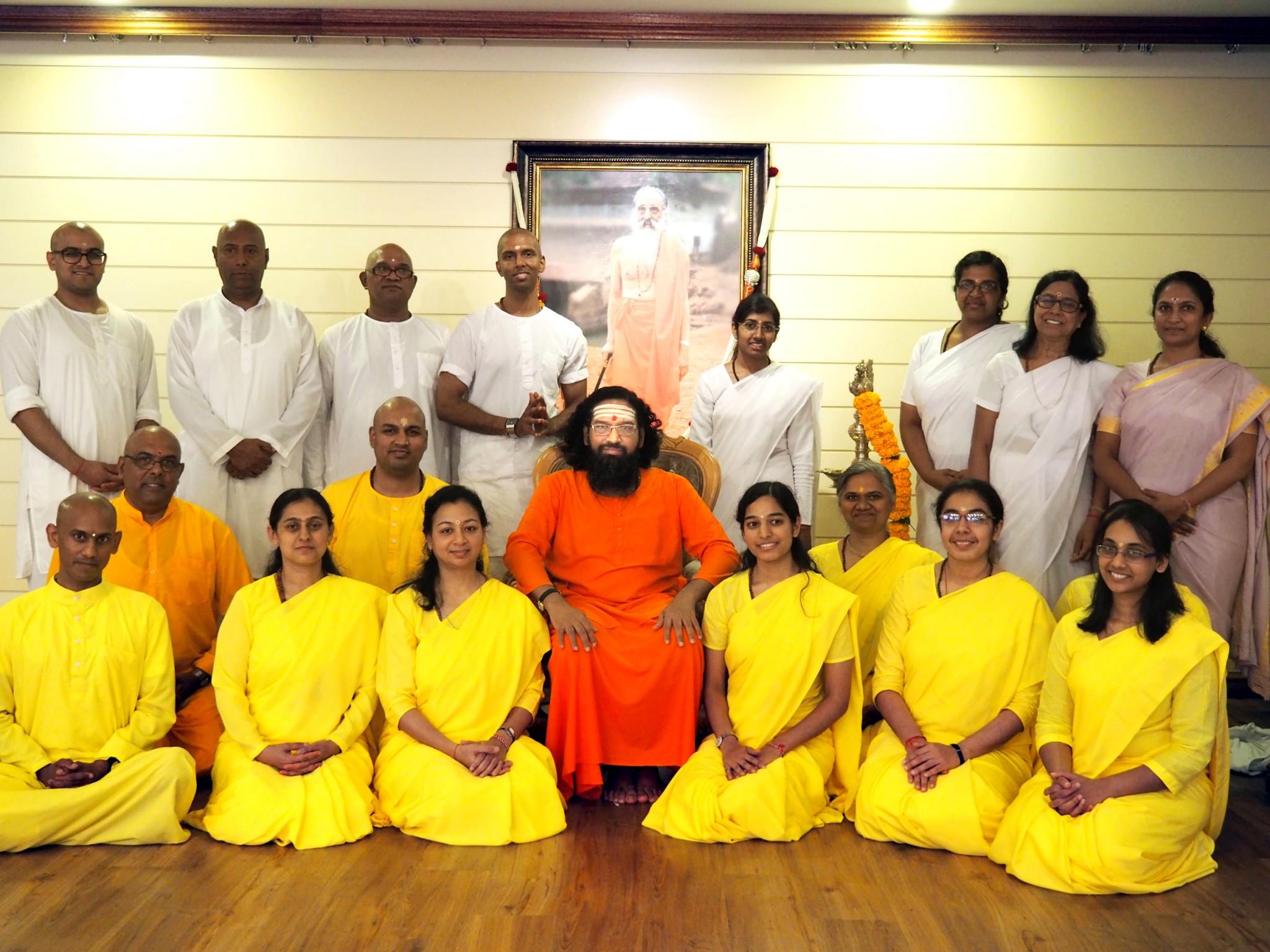 Brahmacharya Deeksha at Durban 2